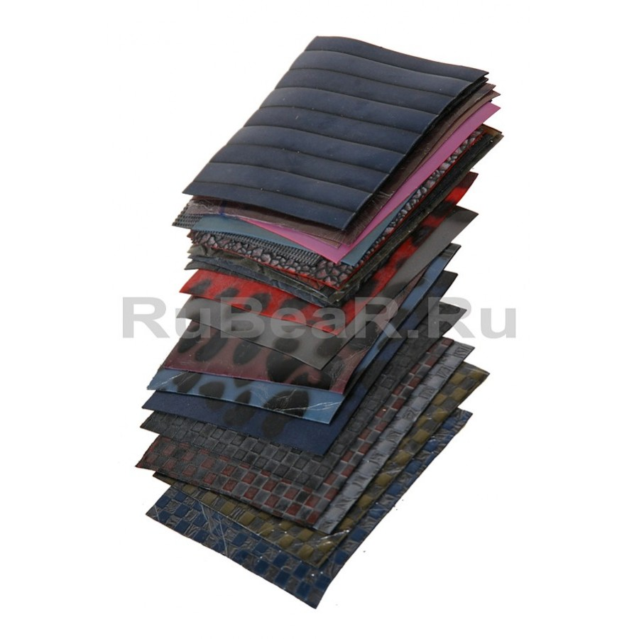 Large set of textured latex samples