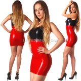 DL0302 Mini-dress tricolor