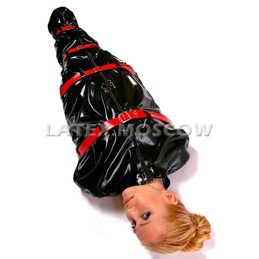 Plastic enclosure bondage bags