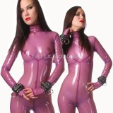CA0008 Latex Catsuit N8 zipperless unisex