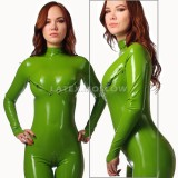 CA0017 Latex Catsuit N17 with breasts zippers