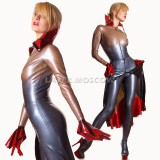 CA0019 Latex Catsuit womens MERMAID