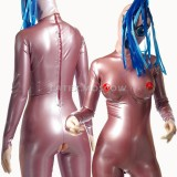 CA0021 Latex Catsuit BOOBS-2 with implants unisex
