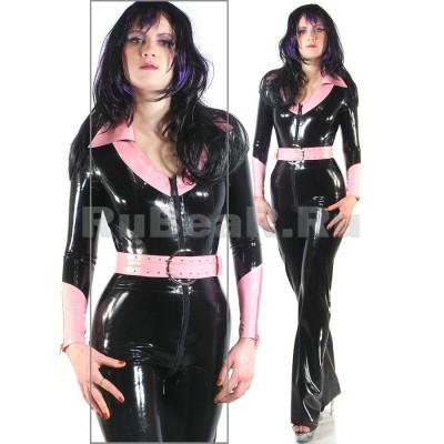 CA0024 Latex Suit womens