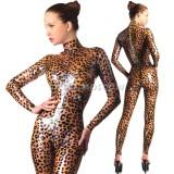 CA0026 Latex Catsuit LEOPARDESS womens