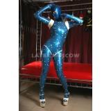 CA0056 Latex Catsuit SPACE unisex