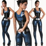 CA0166 Latex Suit Light ANARCHY unisex