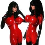 CA0099 Latex Catsuit FIRECREATURE unisex