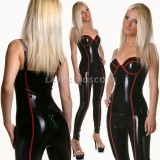 CA0127 Latex Suit Light N127 womens