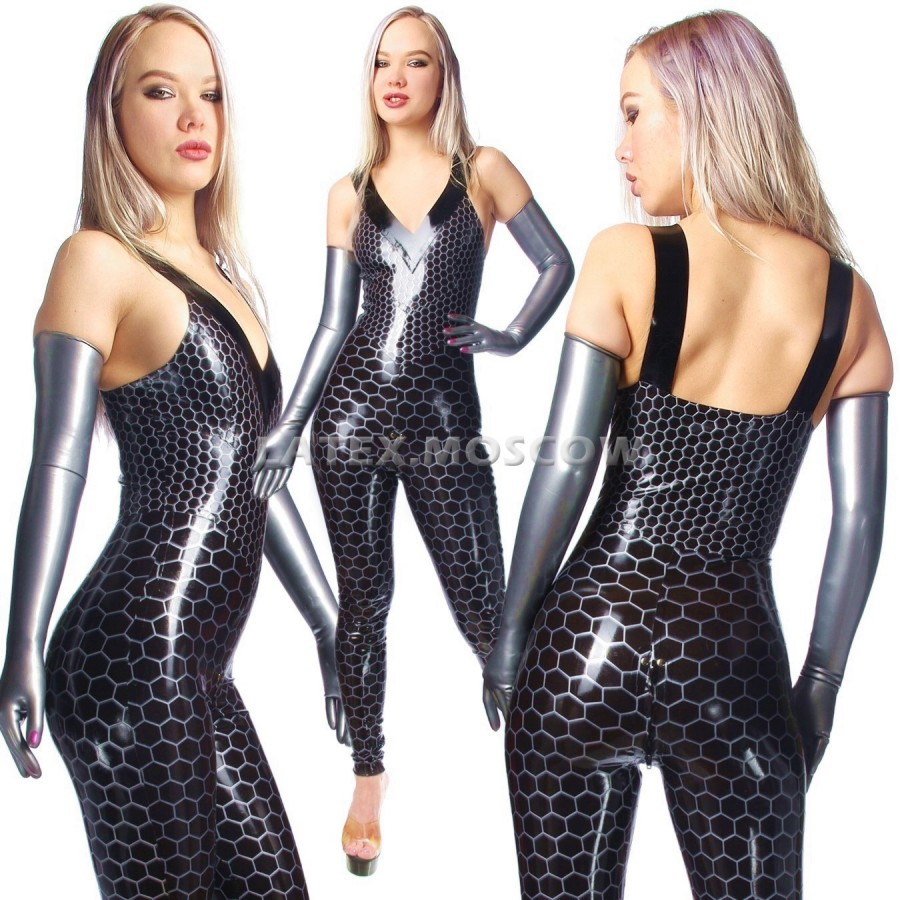 CA0153 Latex Suit Light N153 unisex