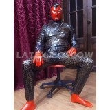 CA3075 Latex Pajamas SMOKYSTE Unisex
