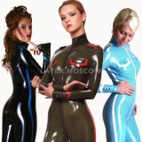 CA4001 Latex Catsuit MILITARY STYLE unisex