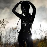 CA4502 Latex Suit ALIEN unisex