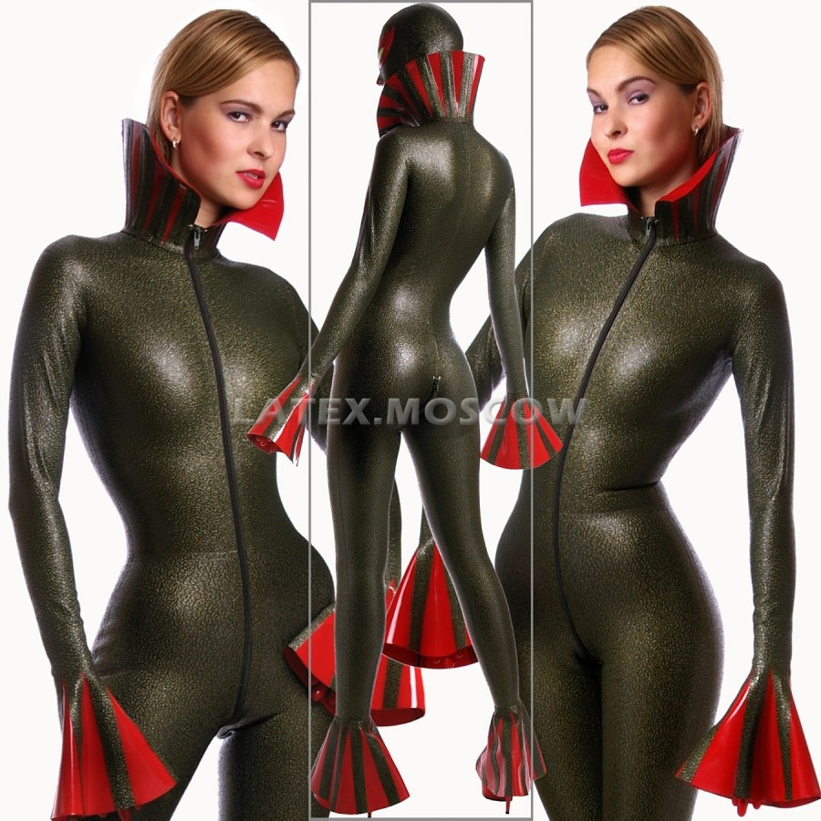 CA4503 Latex FROGSUIT unisex