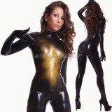 CL1104 Latex FullSuit SpiderNet