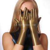YL0102 Latex Gloves Short