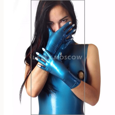 YL0108 Latex Gloves Short with Nails