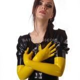 YL0207 Latex Gloves Long with Nails