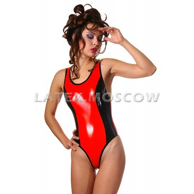 BA0865 Latex Swimsuit
