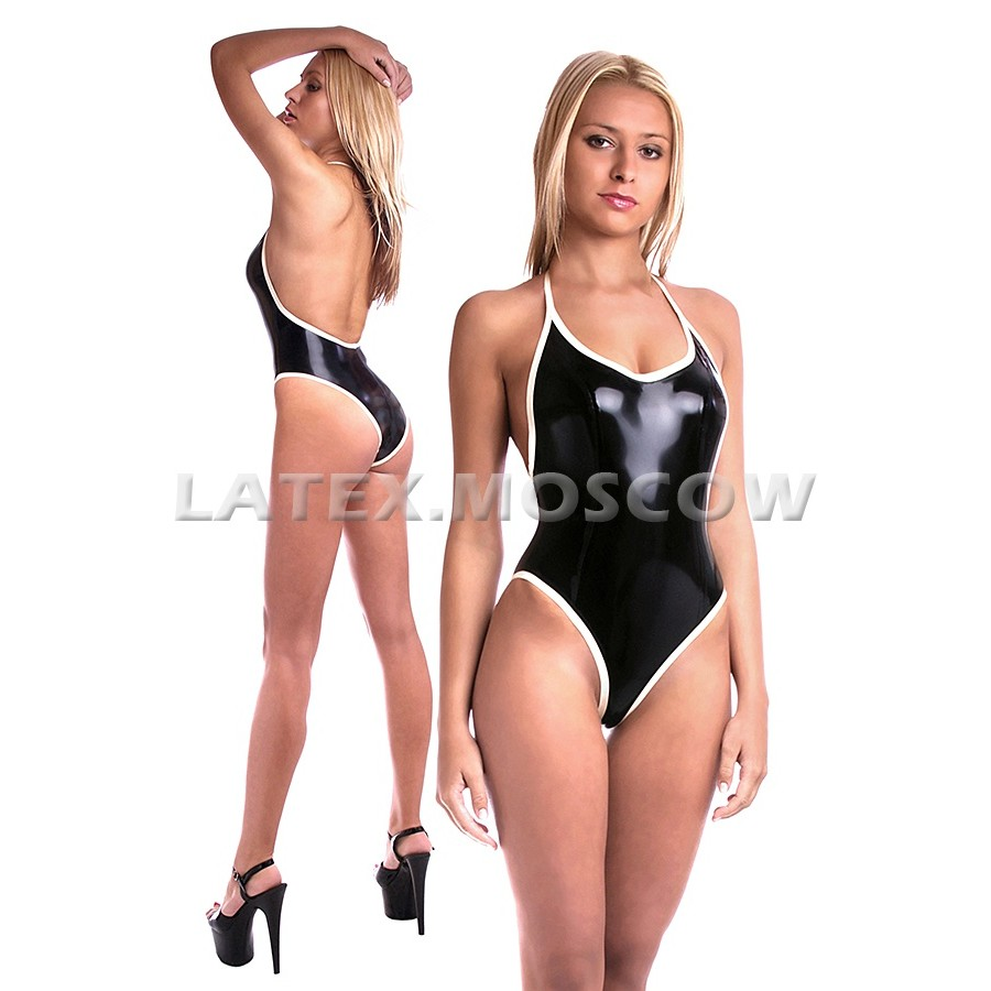 BA2262 Latex Swimsuit