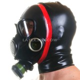 AS9405 Gas Mask with attached hood
