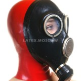 AS9406 Gas Mask with attached hood