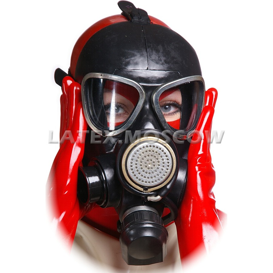 AS9005 Rubber Gas Mask