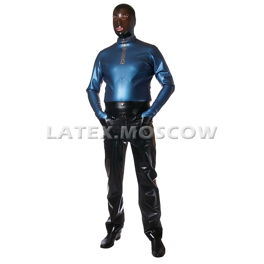 RA0042 Textured Latex Pants