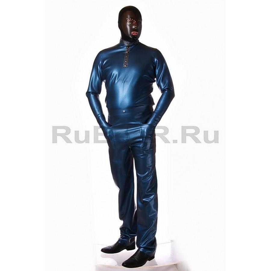 ZRA0042-422000-02 Textured Latex Pants (L)
