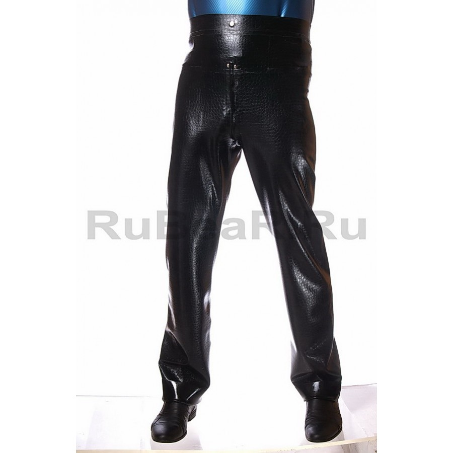 ZRA0042z-550000-04 Textured Latex Pants