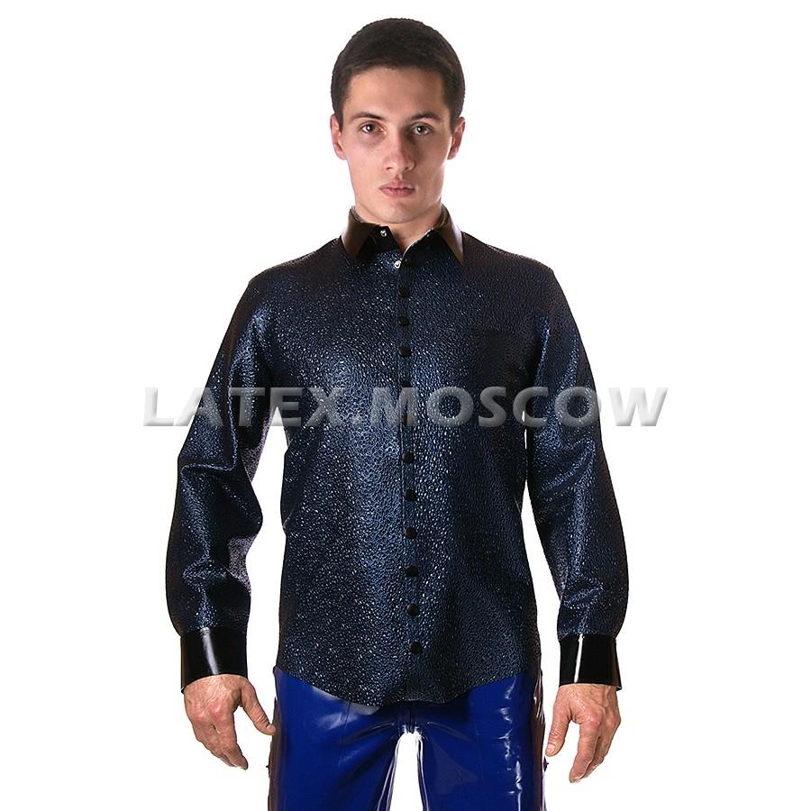 RA0246 Textured Latex Shirt