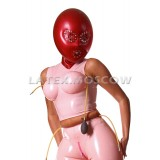 GA4303m Latex Top with Inflatable Breasts