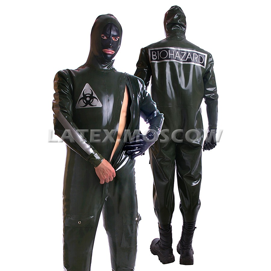 HA0501 Latex Suit Biohazard