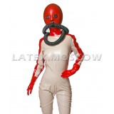 HA0505 Latex Space Crew Suit