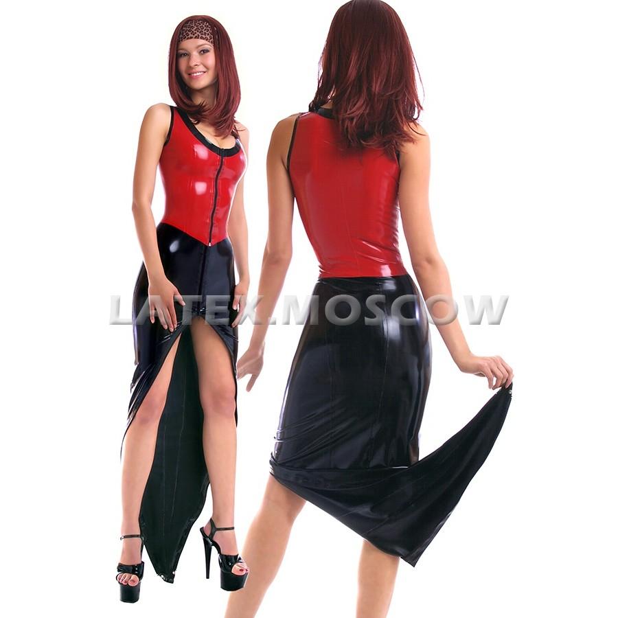 """SA9753 Latex Skirt """"Dragon's Tail"""""""