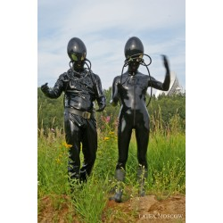 Photo: Latex Aliens