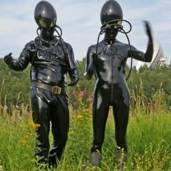 Photo: Latex Aliens