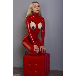 Photo: Catsuit RED