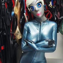 Rubber Zina - a living doll